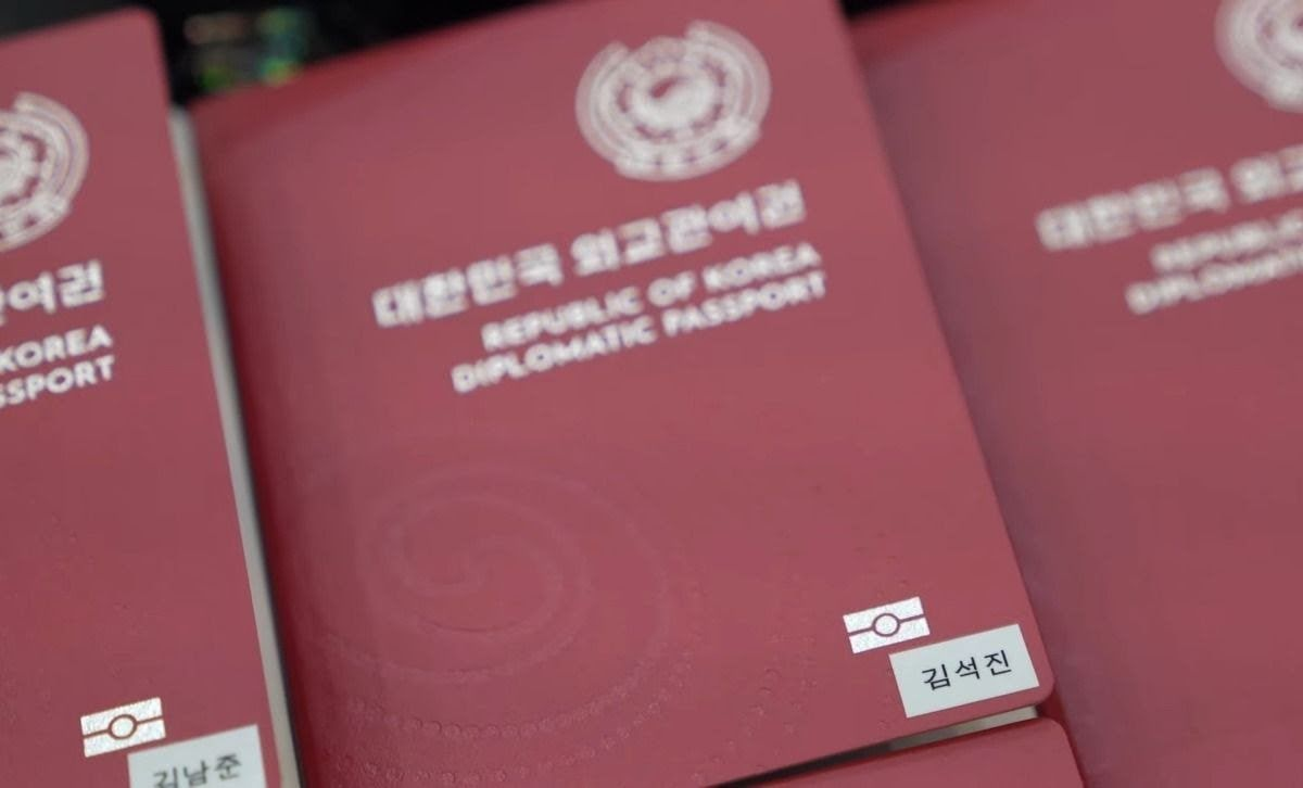 bts diplomatic passports