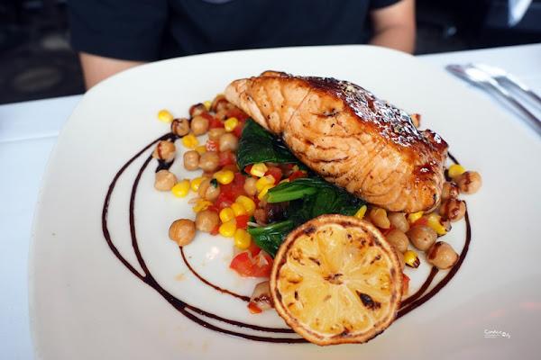 莫爾頓牛排館|VIEW超讚45樓景觀餐廳,午餐價位划算!生日優惠送蛋糕(含菜單)