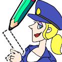 Draw Happy Police icon