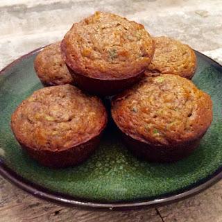 Almond Zucchini Muffins