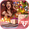 Christmas Photo Editor-Frames, Effects & Cards Art icon
