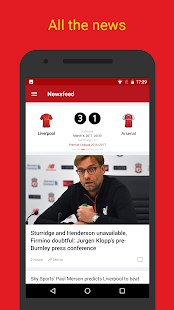 LFC Live — Liverpool FC News- screenshot thumbnail
