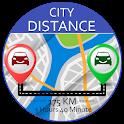 City Distance Calculator - Distance Navigation icon