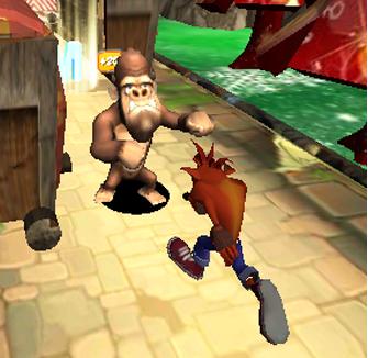 Subway Crash Run : Nsane Jungle Trilogy 1.1 screenshots 6