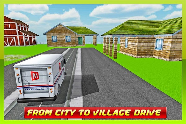 TRANSPORT TRUCK: MAIL DELIVERY - screenshot