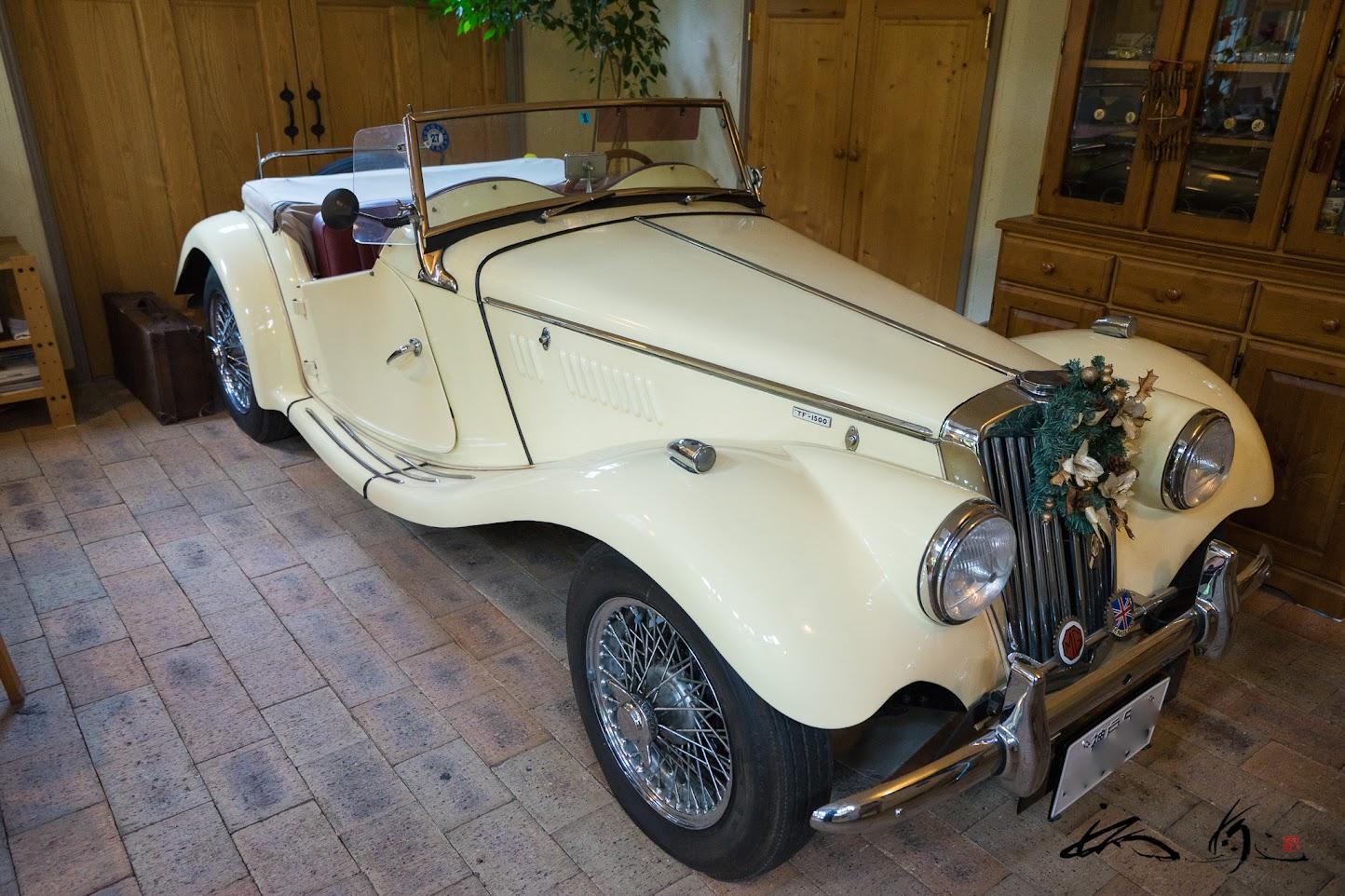 オーナーの愛車・英国車「MG-TF1500」
