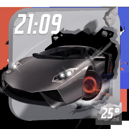 3D Widget for City Car Driving