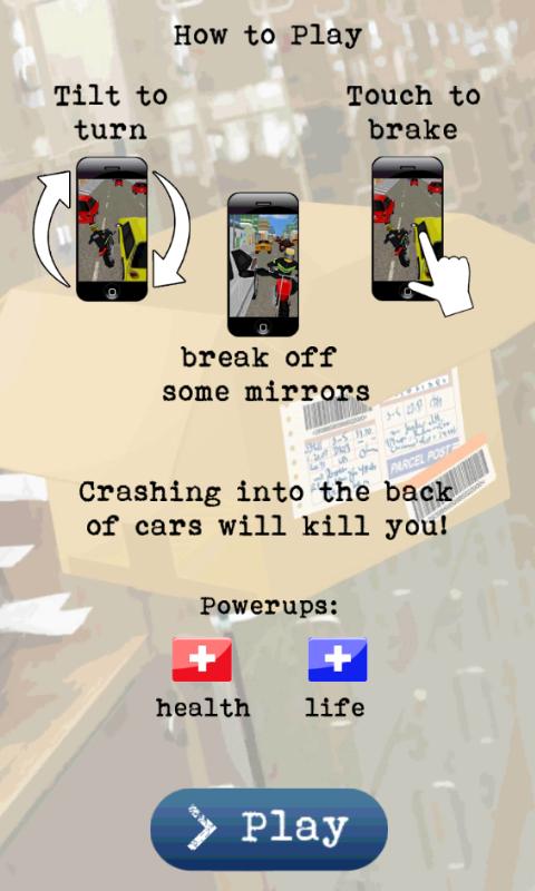 Motoboy- screenshot