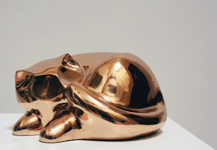Photo: 30x30x15 cm, Bronze, Cat, 2010