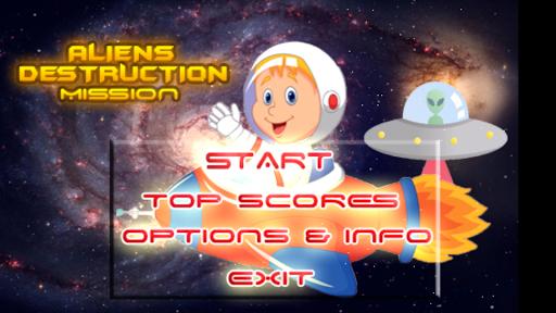 Aliens Destruction Mission