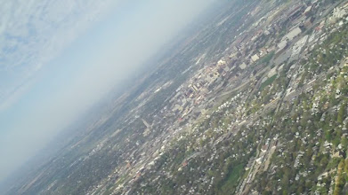 Photo: Downtown Lincoln at 1500 ft AGL