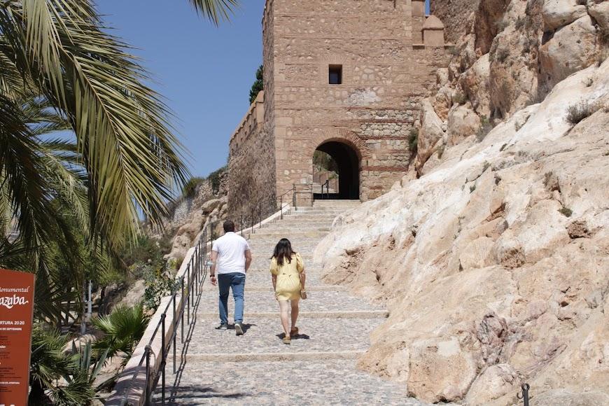 Visitas turísticas a la Alcazaba sin estado de alarma.