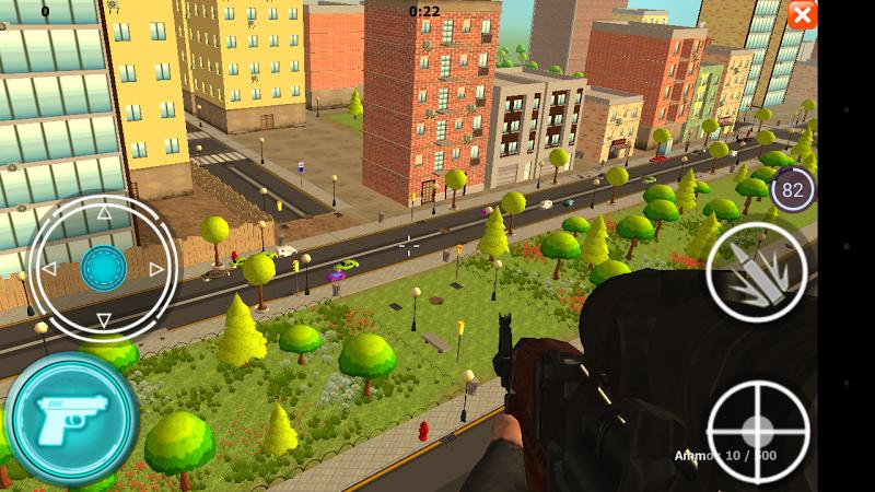 Скриншот Sniper: Traffic Shooter
