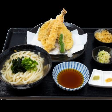Vegetable Tempura Udon Set