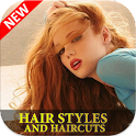 Hair styles and Haircuts icon