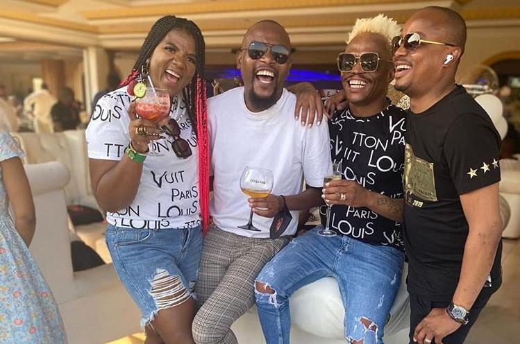 Somizi, MaMkhize, Bentleys and loads of laughs: Inside Vusi Nova's birthday bash - TimesLIVE
