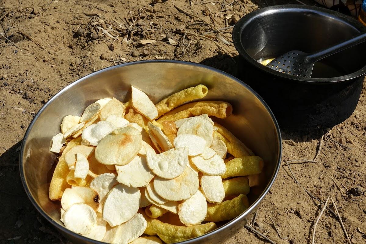 Thar. Desert Camel Trekking Day 3. Potato chip desert-style