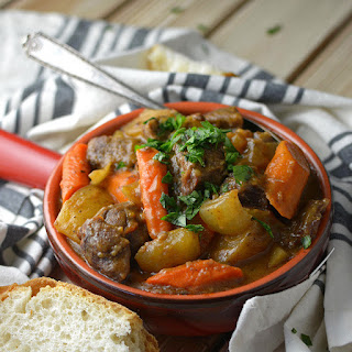 Slow Cooker Beef and Vegetable Stew.