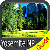 Yosemite National Park GPS Map Navigator