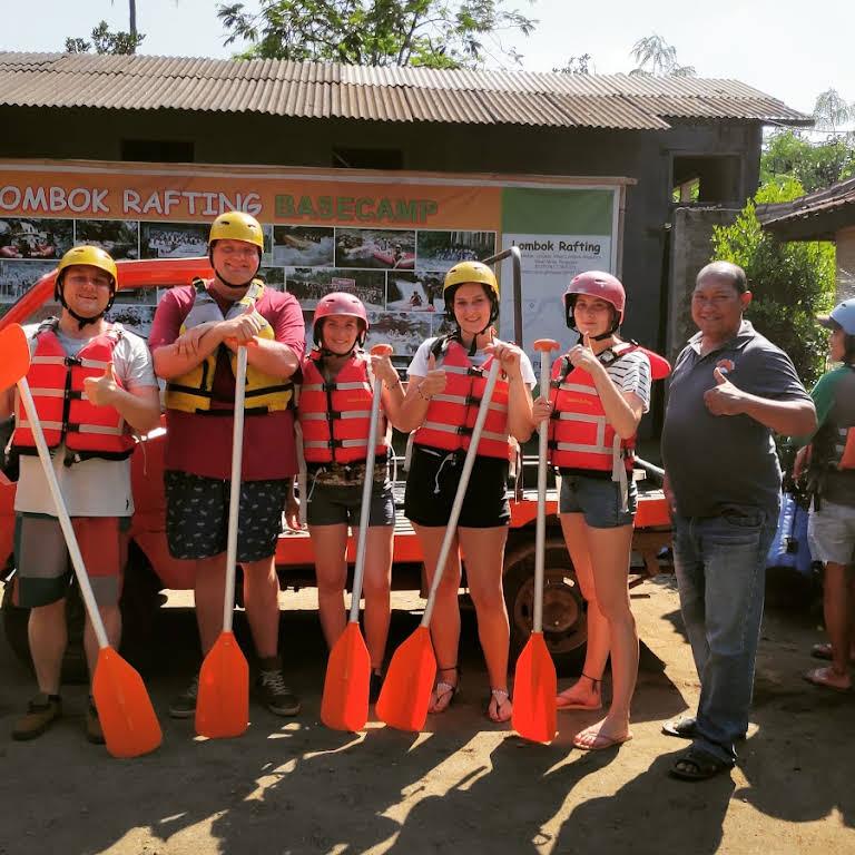 Lombok Rafting Let S Get Fun N Adrenaline
