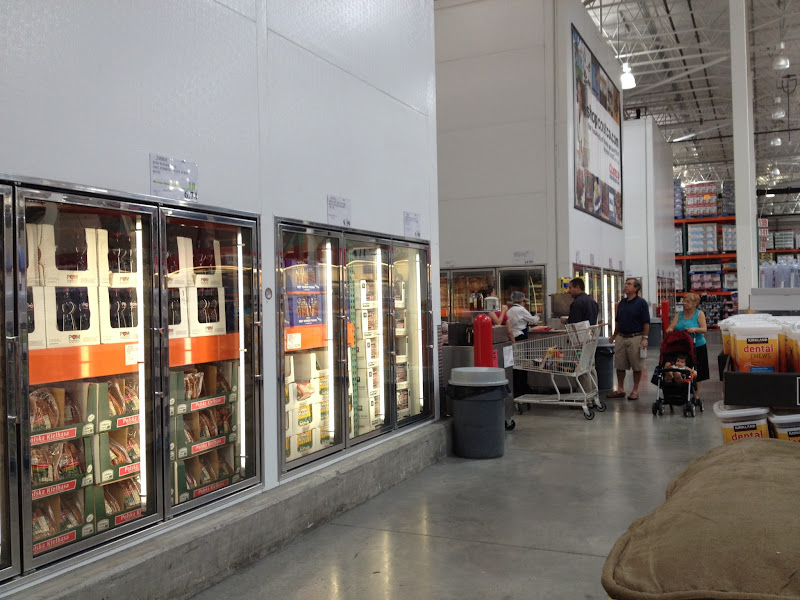 Photo: I shop at Costco about once a month, and more so during the summer when we host a lot of pool parties and bbqs. However, I only buy frozen fish here a few times a year. I knew exactly where the fish would be because there are only 3 frozen food isles. So easy to find!