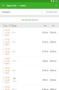 Captain Train: train tickets Screenshot 15