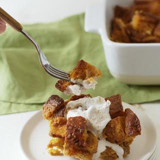 Gluten Free Sweet Potato Bread Pudding