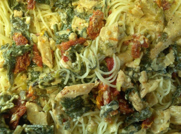 Lemon Zested Chicken Angel Hair Pasta Recipe