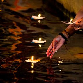 Dev Deepawali by Arup Acharjee - News & Events World Events ( diwali, ganges, india, varanasi, dev deepawali )