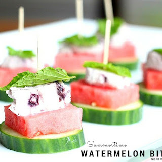 Watermelon Goat Cheese Appetizer Recipes