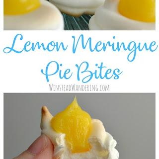 Lemon Meringue Pie Bites.