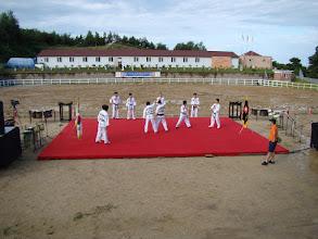 Photo: Kampfkunstgruppe der Sun Moon Universität