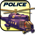 911 Police Gunship Helicopter icon