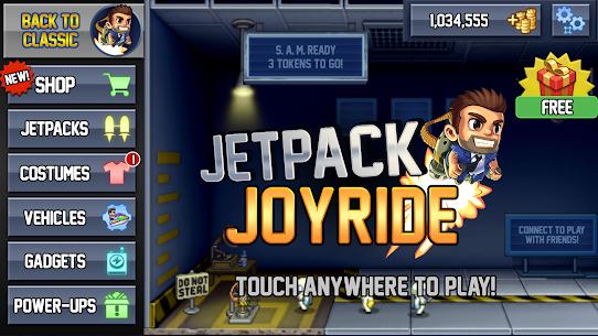 Jetpack Joyride Mod Apk (Unlimited Coins) 5