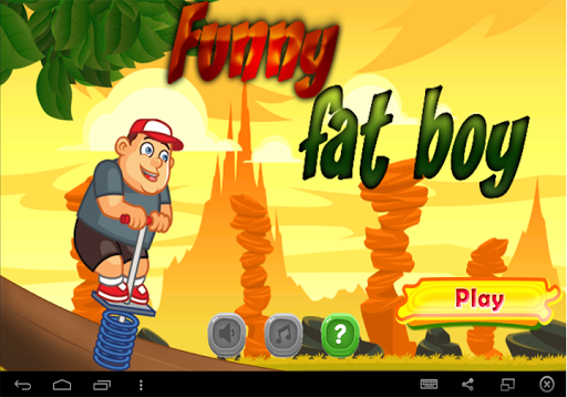 Funny Anime Fat Boy Free Game