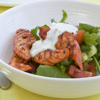 Tandoori Chicken with Lemon Yogurt Dressing
