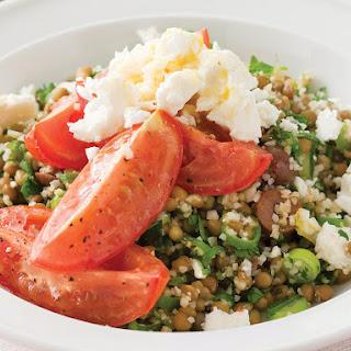 Lentil and Bulgur Wheat Salad