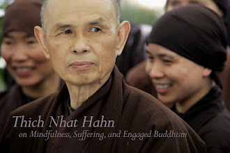 Photo: Our show with Thich Nhat Hanh is an On Being Classic, non?  http://www.onbeing.org/program/thich-nhat-hanh-on-mindfulness-suffering-and-engaged-buddhism/74  We've heard from so many people over the years about how the Zen master and poet spoke to them -- through a mix of gentleness with power -- on mindfulness, suffering, and engaging with the world. We're replaying Krista's conversation with him as he tours the U.S. It's a must-listen; a must-share.