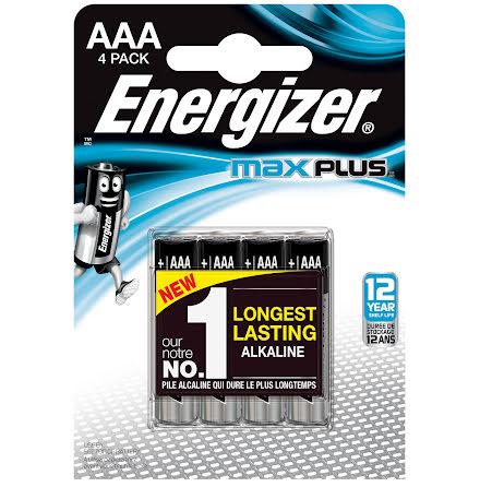 Batteri Energizer Max AAA 4/fp