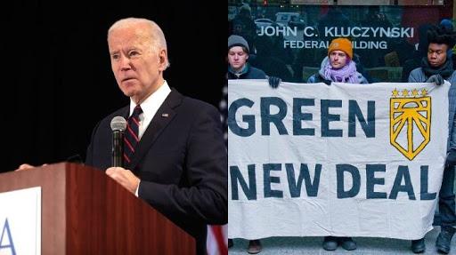 Climate Change Progressives Protesting Against Biden Admin At The White House