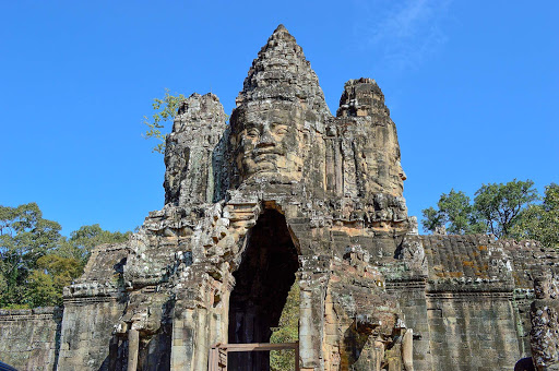 cambodia-ancient-temple.jpg - Angkor Thom was the most enduring capital city of the Khmer empire, established in the late 12th century AD.