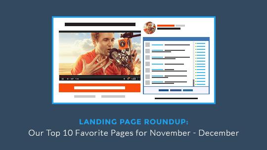 Landing Page Roundup