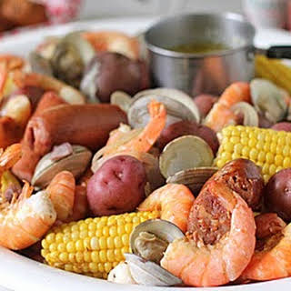 Low Country Boil Without Seafood Recipes.