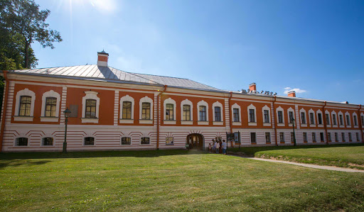 saints-peter-and-paul-fortress-Commandants-House.jpg - The Commandant's House, built in the 1740s, houses the main collection of the Museum of the History of St. Petersburg.
