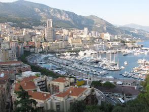 Photo: View of the Port of Hercules, La Condamine, Monaco. BTW, here Formula 1 has place