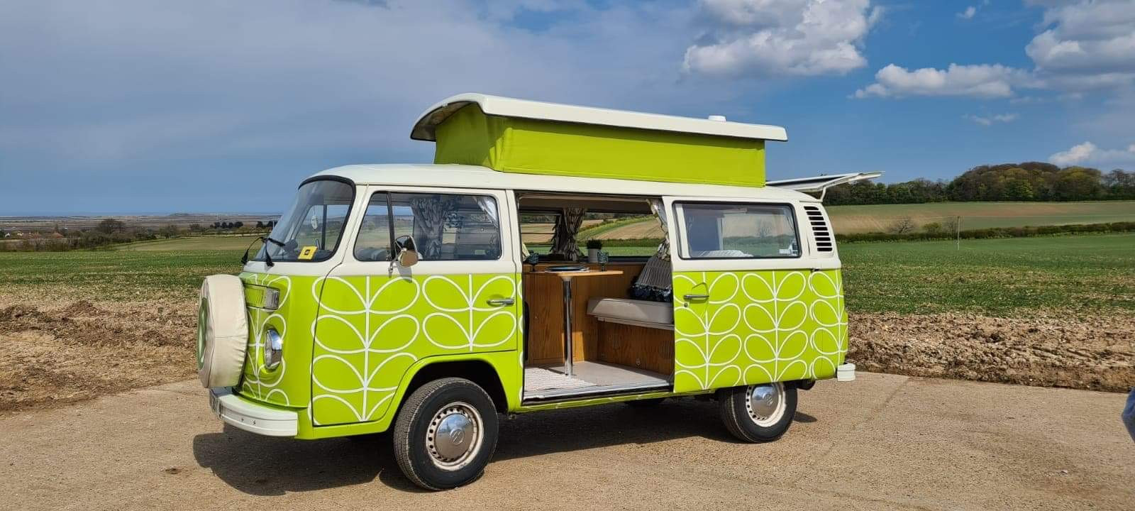 Volkswagen T2 Hire Woodhall Spa