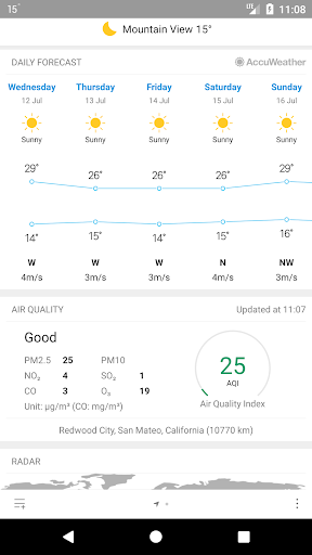 Weather Mate (Weather M8) 1.3.1 screenshots 3