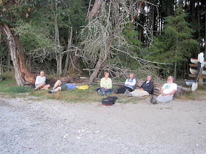 Photo: Relaxing at Hope Island campground