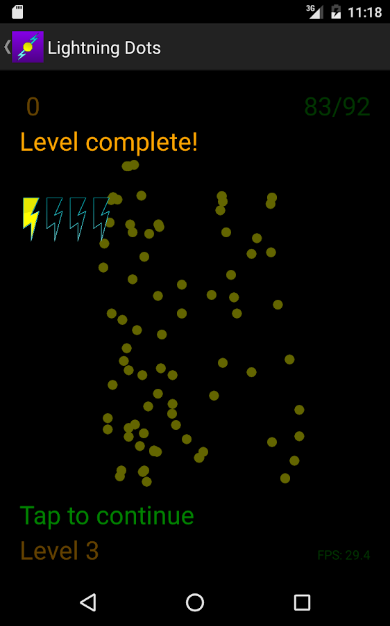 Lightning Dots- screenshot