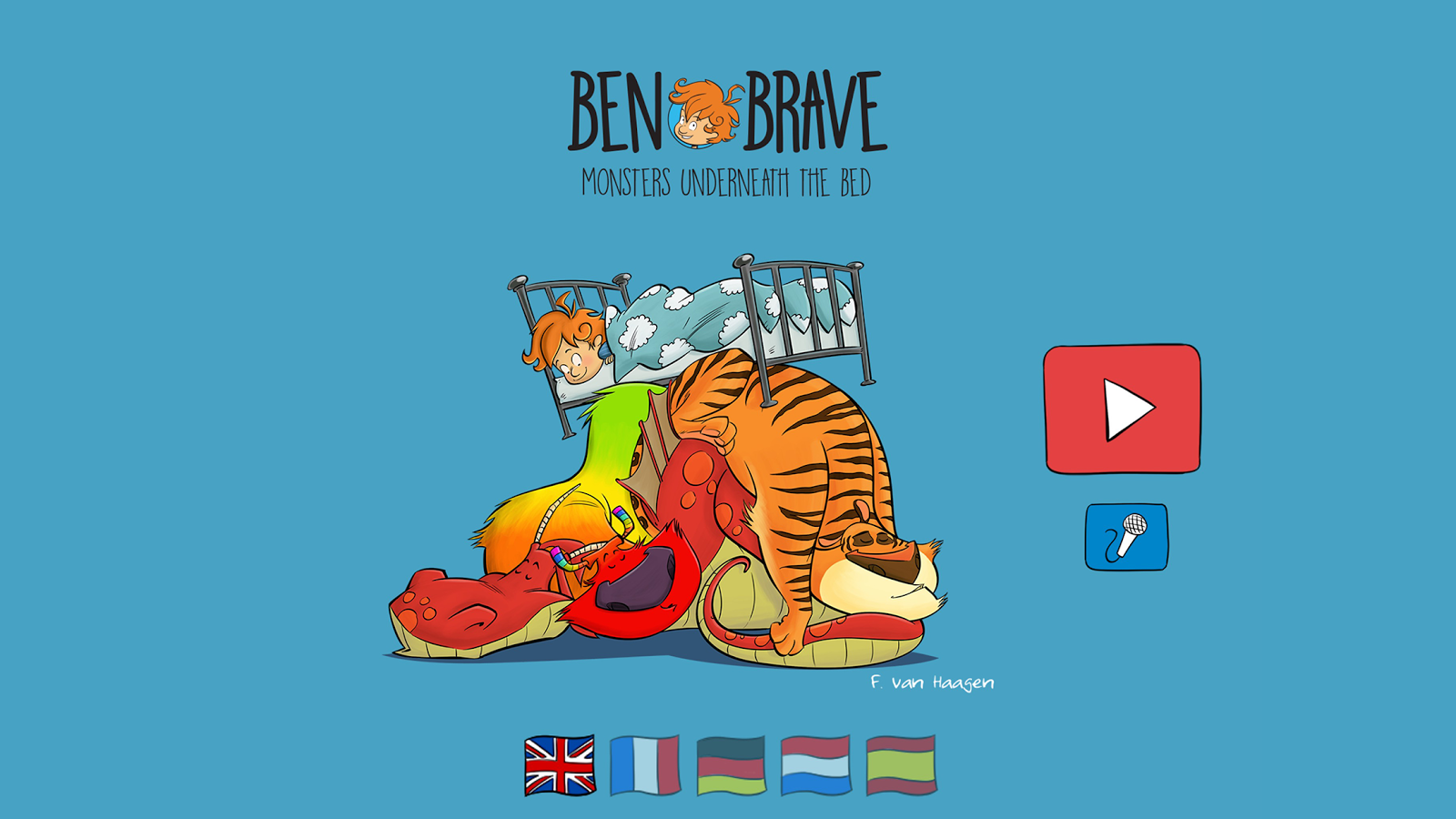 Ben Brave Monsters Underneath- screenshot